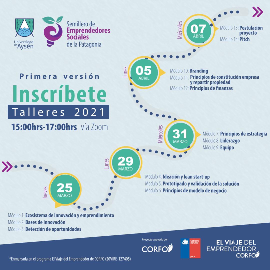 """UAysén lanzará programa """"Semillero de Emprendedores de la Patagonia"""" para jóvenes de la región"""