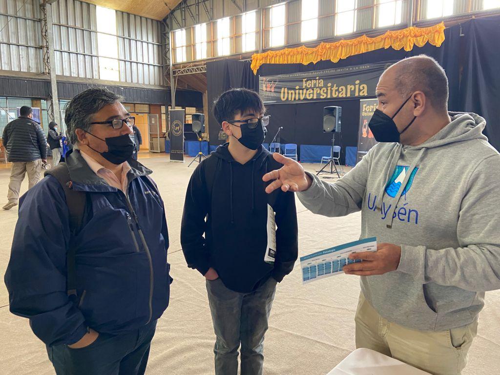 Admisión UAysén retoma actividades presenciales con asistencia a ferias de Educación Superior