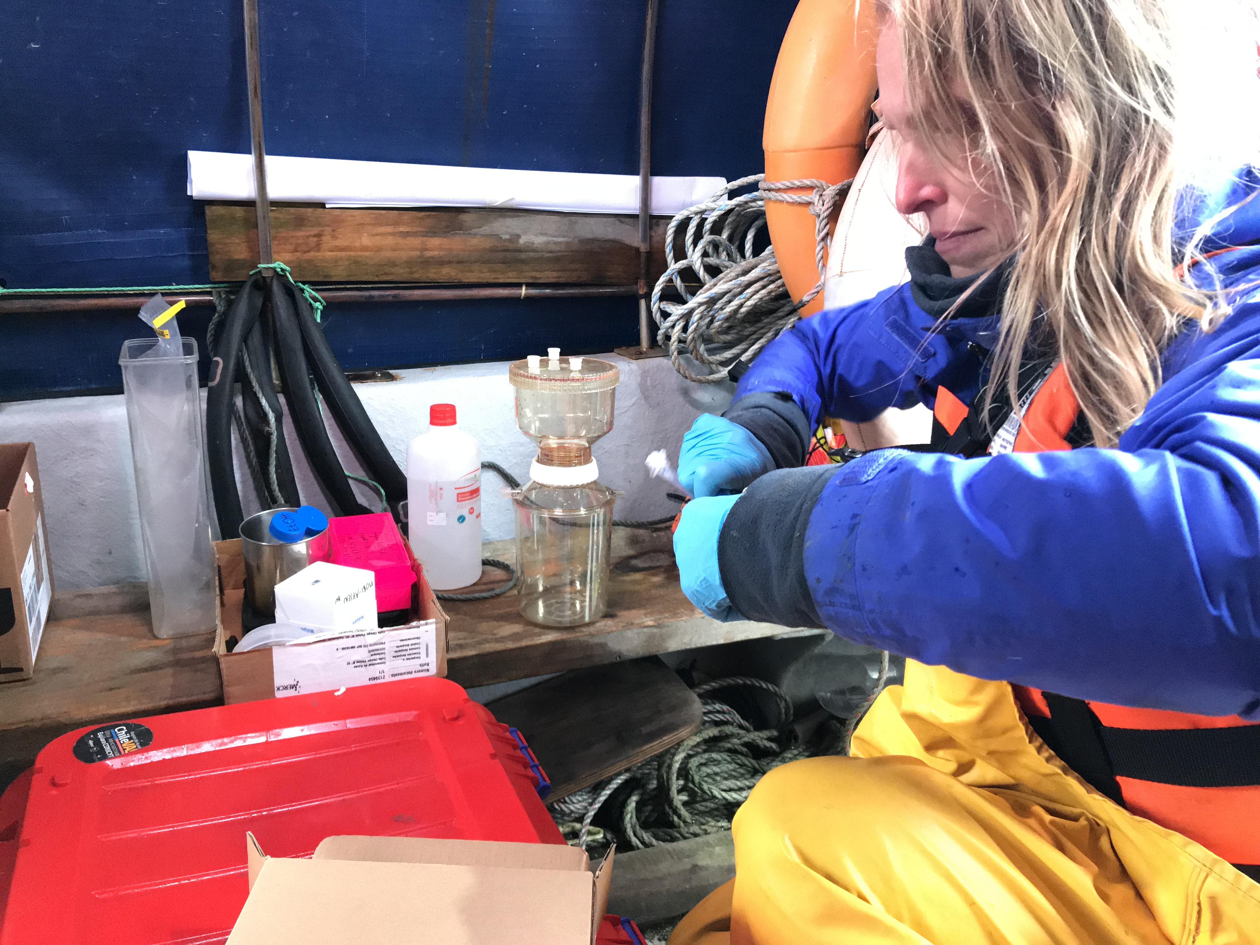 MOBI-Aysén: avanza la investigación del laboratorio genético para el monitoreo de biodiversidad acuática