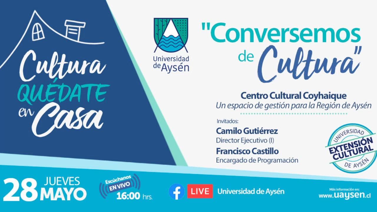 Centro Cultural Coyhaique, un espacio para la gestión cultural