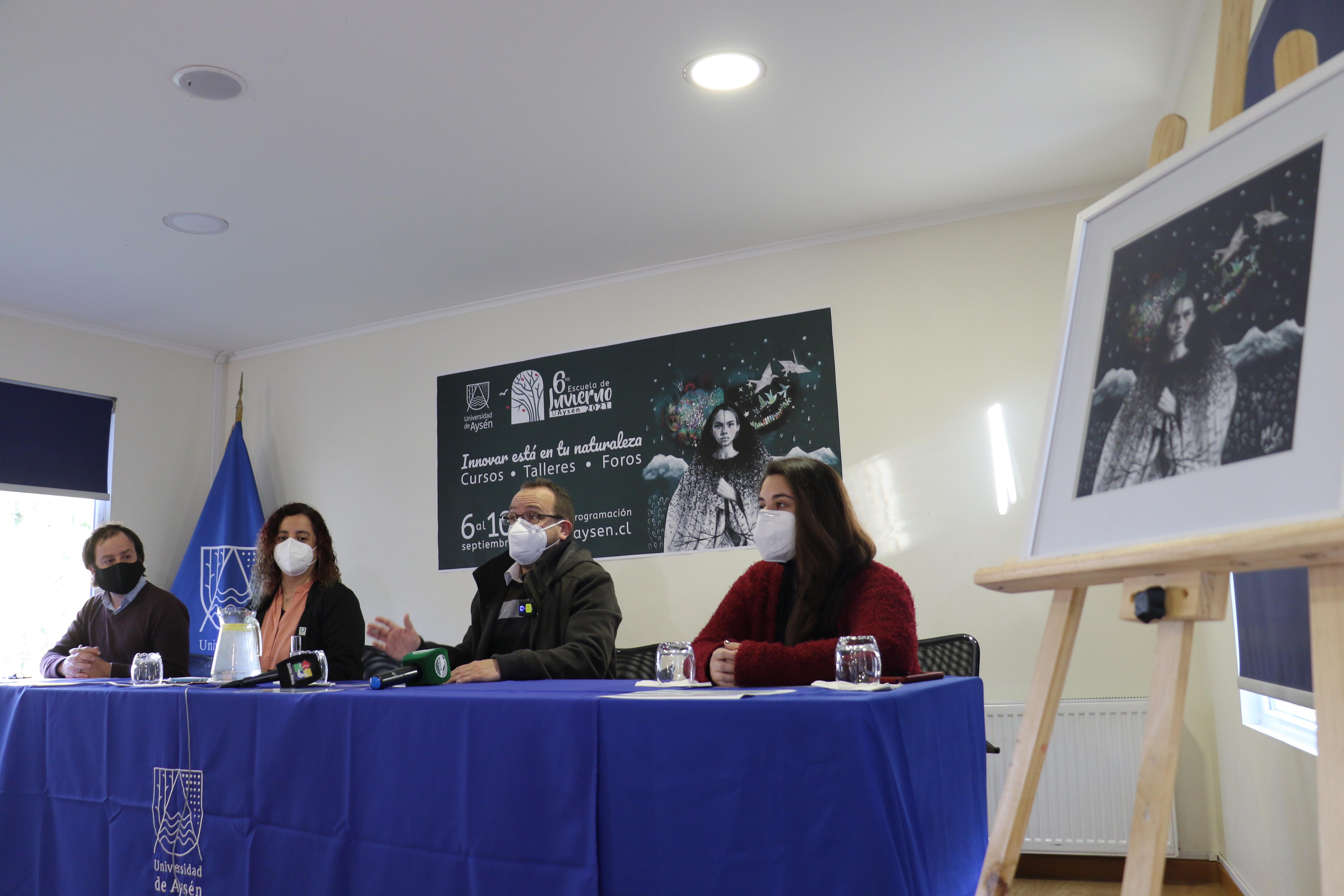 UAysén lanza 6ª Escuela de Invierno con foco en la innovación