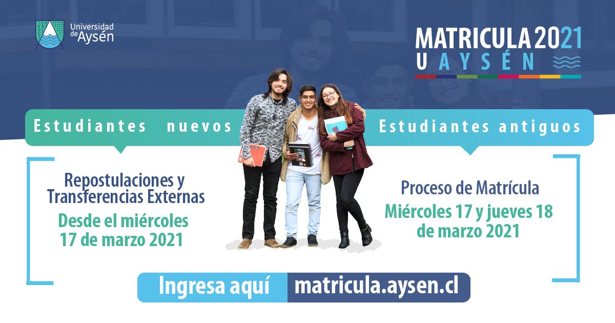 Matrículas Estudiantes Antiguos 2021