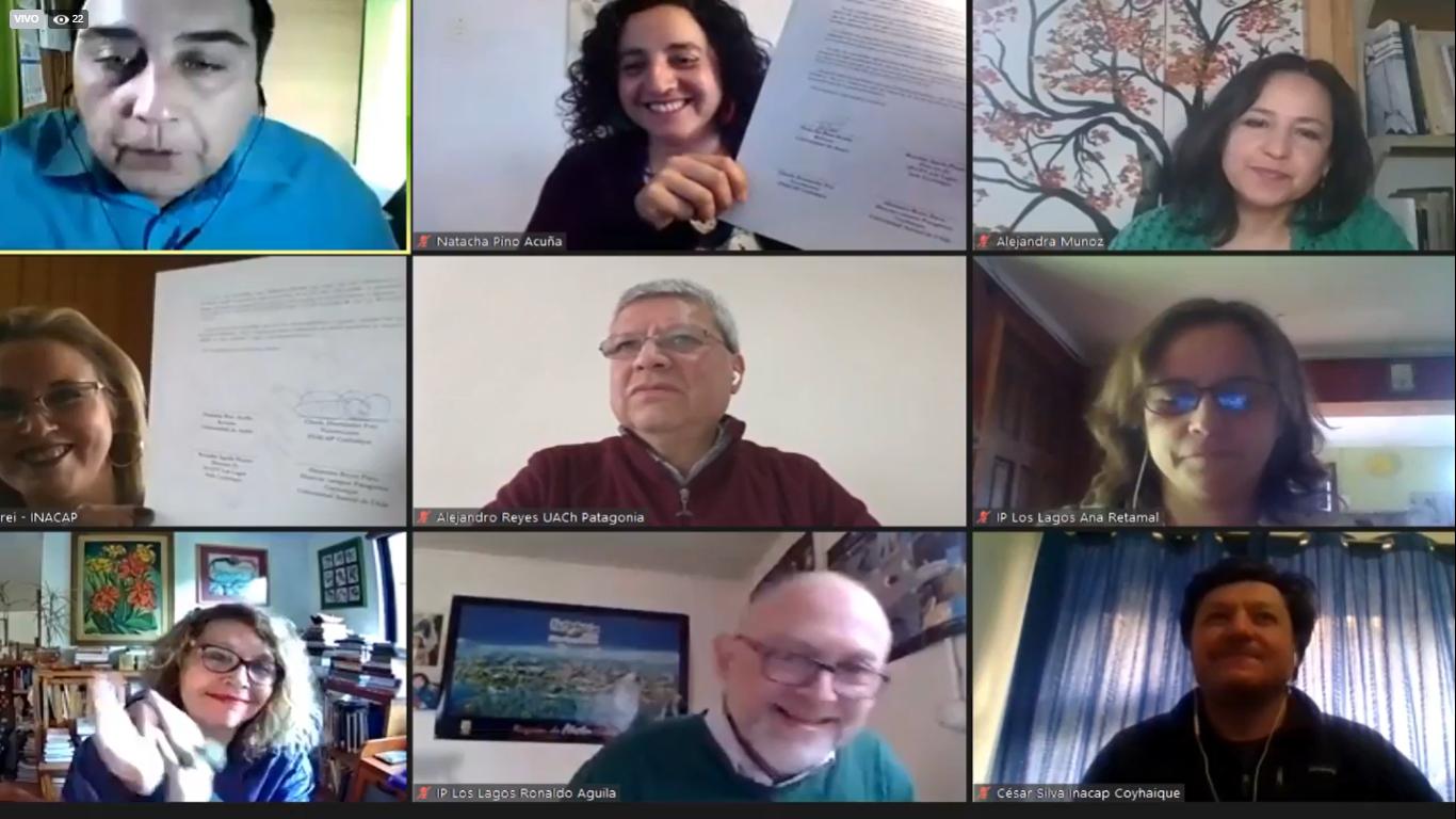 Finaliza con éxito conversatorio organizado por la Red Cultural de Instituciones de Educación Superior en la Región Aysén