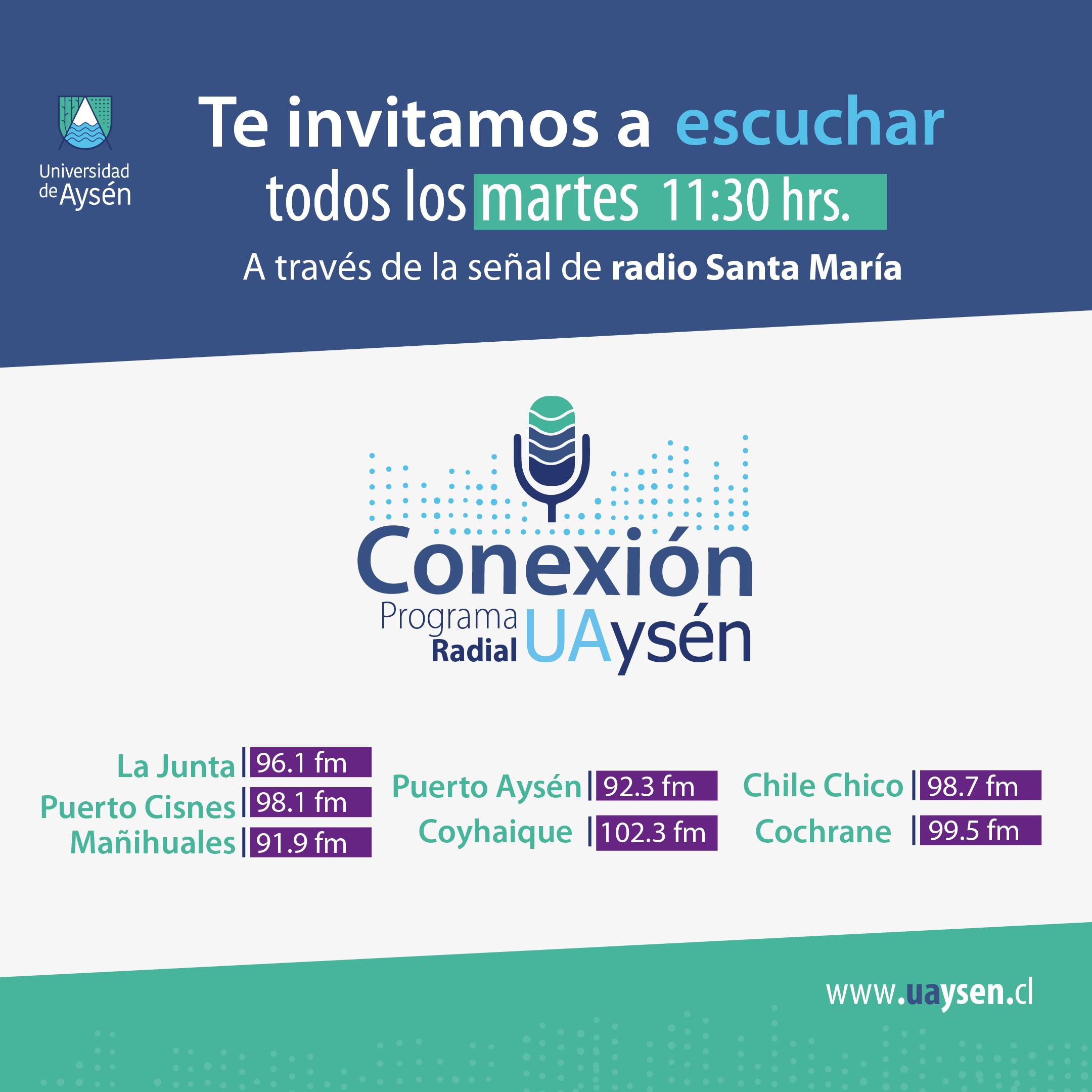 Nueva temporada de Conexión UAysén