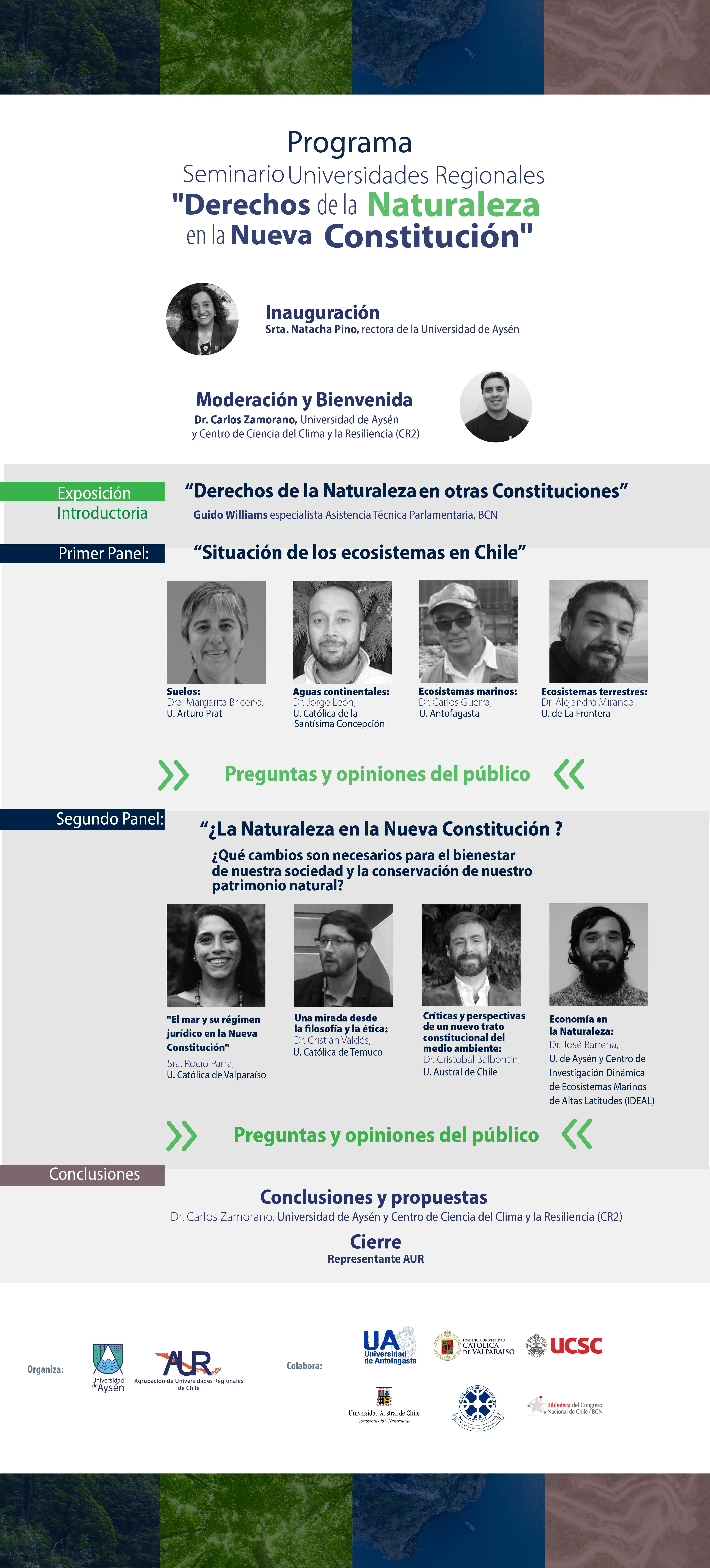 """Seminario """"Derechos de la Naturaleza en la Nueva Constitución"""""""
