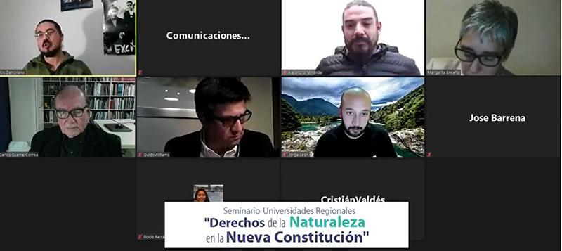 El rol del medioambiente en el debate Constitucional es abordado en encuentro de universidades regionales