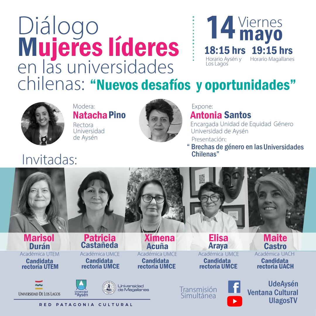 """Diálogo Mujeres Lideres en las universidades chilenas: Nuevos desafíos y oportunidades"""""""